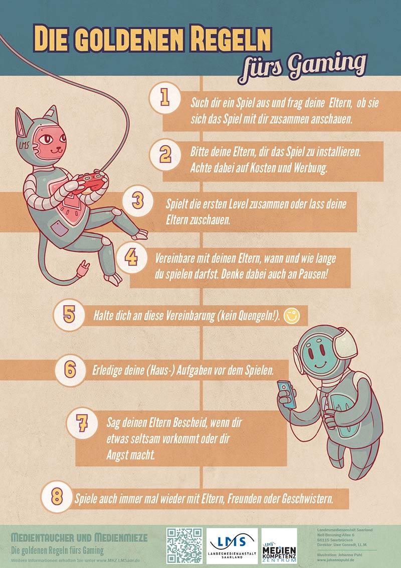 Die goldenen Regeln zur Mediennutzung