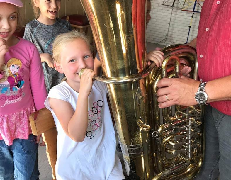 Zu Besuch beim Musikverein Eppelborn