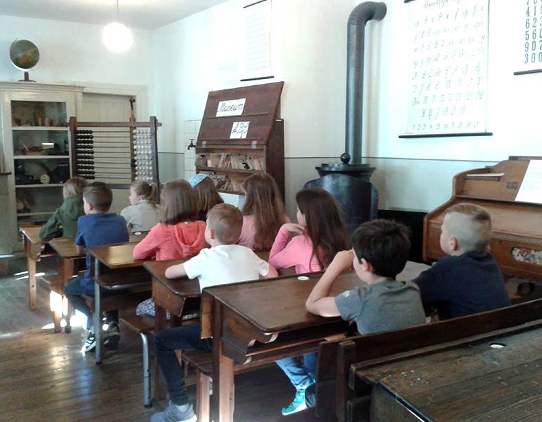Im Ottweiler Schulmuseum