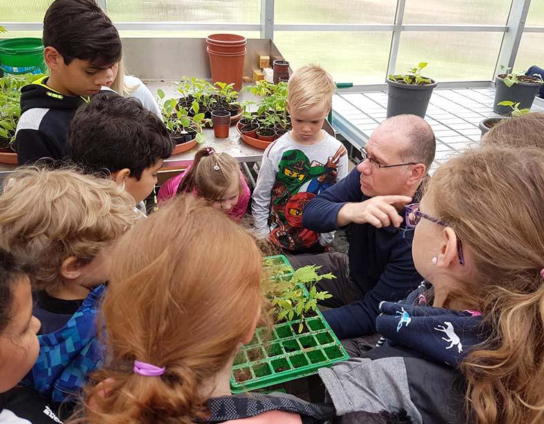 Garten-AG zu Besuch im Haus Hubwald