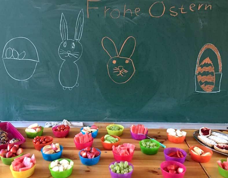 Der Osterhase war schon in Bubach!