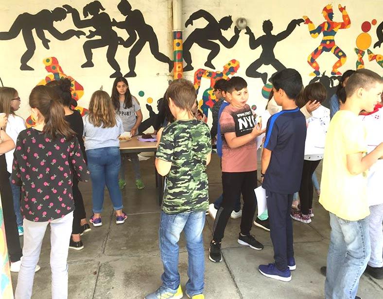 Besuch der französischen Grundschule in St. Avold